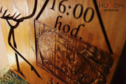 tabuľka pre dieťa z dreva