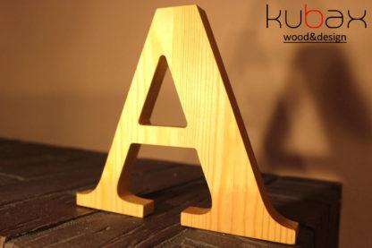 drevené písmená