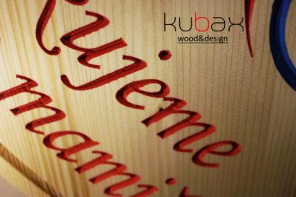 drevené srdiečko