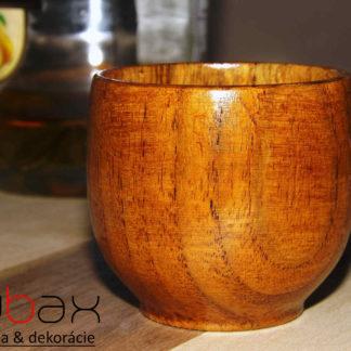 drevený pohár - poldecový