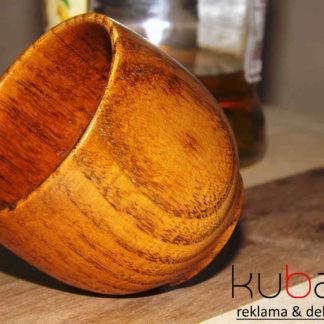 drevený pohárik - poldecák